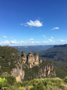 The three sisters @ the Blue Mountains