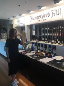 Winetasting at Hungerford Hill