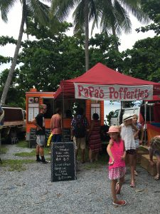 Poffertjes on the market in Port Douglas