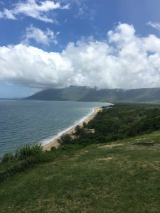 View driving from Port Douglas to Cairns